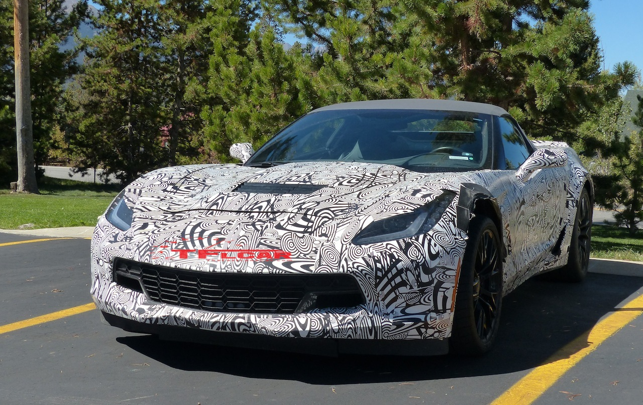 Is this the 2015 chevy corvette z06 convertible spied in the wild vettetube corvette videos