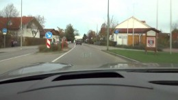 C5 Corvette Driver Going all out in Germany