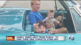 Family asks for help looking for stolen Corvette Stingray