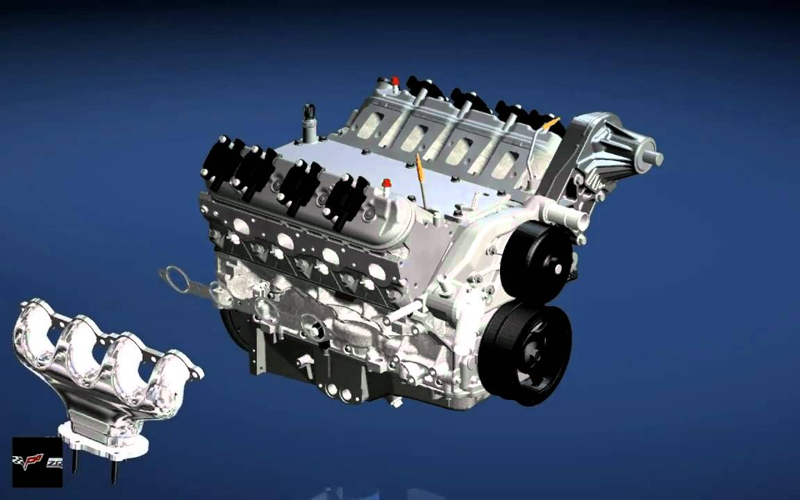 Gm Zr1 Corvette V8 Engine Assembly Ls9 And Car Vettetube
