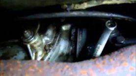 1963 Corvette clutch replacement, part 1 of 5, preparation