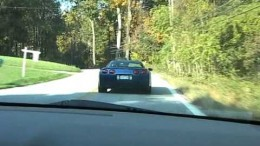 C5 Corvette Z06 Hits a Tree