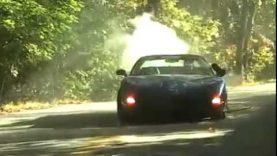 C5 Corvette Z06 Hits a Tree