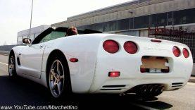 Corvette C5 EXTREME Sound Burnouts + Accelerations