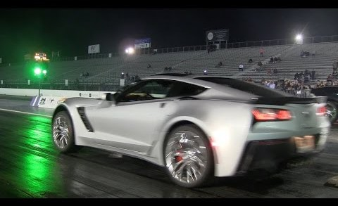 2015 C7 Corvette Stingray Z06 first quarter mile run