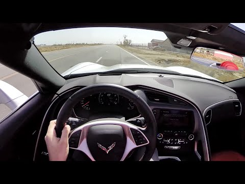 2015 Chevrolet Corvette Z51 Convertible – WR TV POV Test Drive