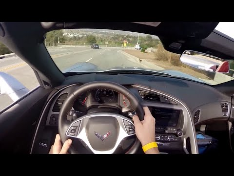 2015 Chevrolet Corvette Z51 Convertible – WR TV POV City Drive