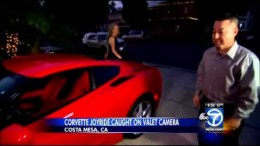California Valet Attendant Fired After Taking Corvette for Joyride