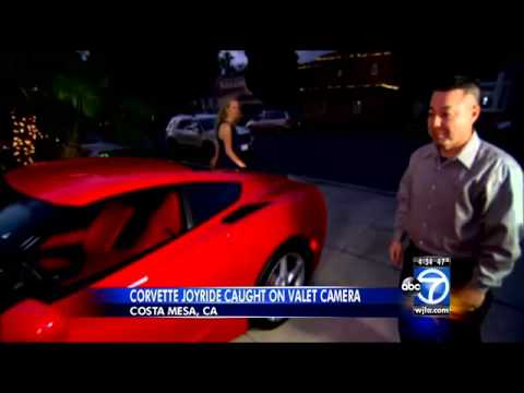 California Valet Attendant Fired After Taking Corvette for Joyride