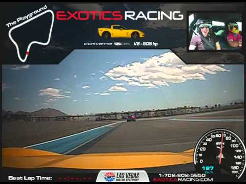 Corvette Z06 Drift Ride Along – Exotics Racing