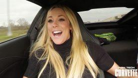 XO Gisele's Reaction to the C7 Z06 Corvette