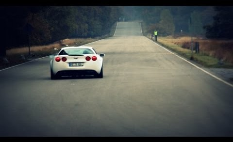 LOUD Corvette C6 Z06 with Corsa Exhaust Accelerating
