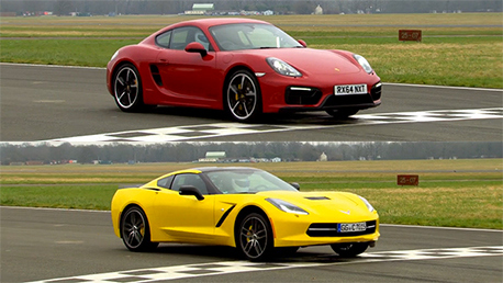 Top Gear: The Stig Laps the 2015 Corvette Stingray
