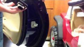 How to fix difficult to open C6 Corvette door handle / pressure plate
