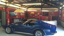 Corvette Man Cave