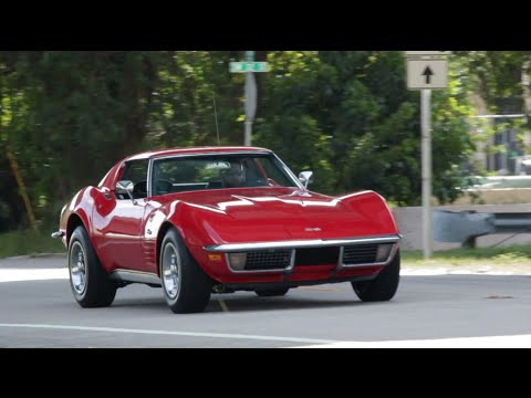 1970 Corvette 400ci 4 speed Acceleration and Test Drive