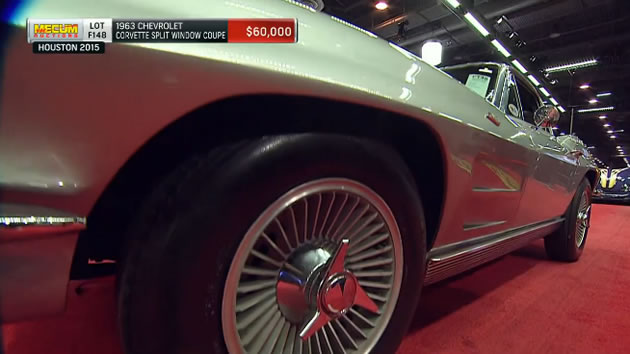 Mecum Auctions: 1963 Chevrolet Corvette Split Window Coupe