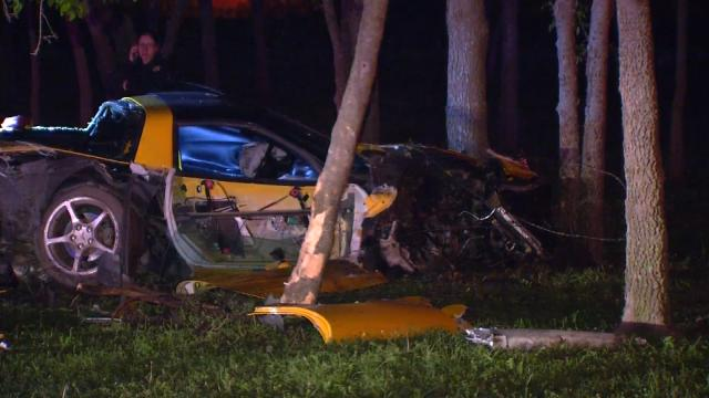 C5 Corvette Totaled In High-Speed Crash In East Tulsa, Oklahoma