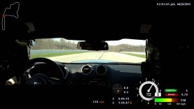 Dodge Viper TA Gets Dive-Bombed By 2015 Corvette Z06 At The Track