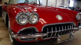 1959 Corvette Dual Quad Frame Off Restored