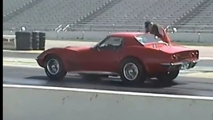 Watch This Bone Stock Looking 1971 Corvette Run 9s and Catch Hell At The Strip