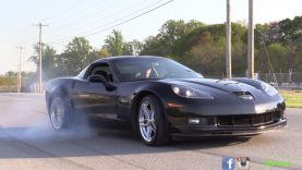 Learn to do a Burnout in a 600hp C6 Corvette Z06!