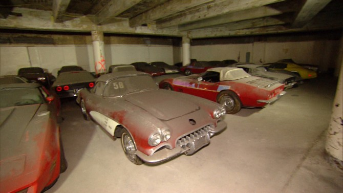 This Corvette Warehouse Could Be Worth Millions