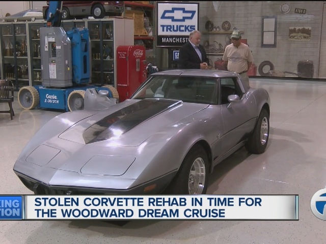Man whose Corvette was stolen ready for Woodward Dream Cruise