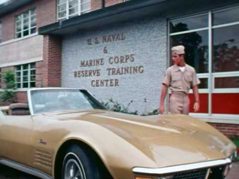 The USMC used hot babes, a Corvette, and the beach in the best recruiting spot ever
