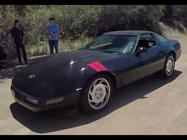 The Smoking Tire Road Tests a Modified 1991 Corvette