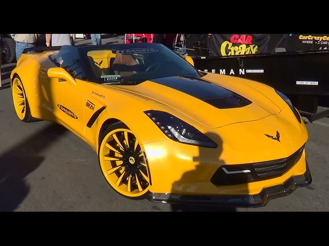 2014 Corvette Wide Body SEMA 2014
