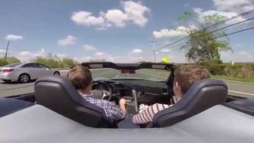 2015 Corvette Z06 accelerating on the highway – thank goodness for on-ramps!