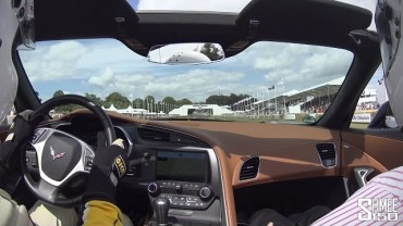 2015 C7 Corvette Stingray Convertible – Onboard Passenger Run