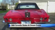 1966 Corvette convertible stolen during Dream Cruise in Birmingham, Michigan