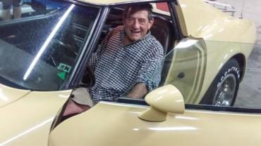 Watch Michigan man's tearful reunion with 1977 Corvette
