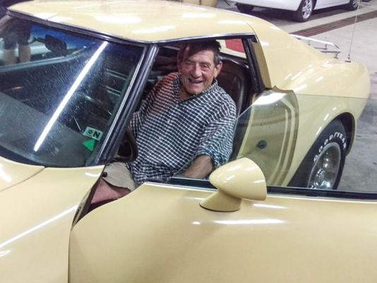Watch Michigan man's tearful reunion with 1977 Corvette