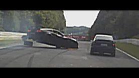 BIG CRASH Corvette Z06 Nordschleife Nurburgring