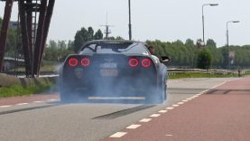 Corvette C6 Z06 – Burnout, Donuts & More!