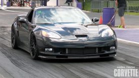 Monstrous Sounding C6 Corvette ZR1 vs Motorcycle