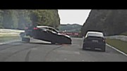 BIG CRASH Corvette Z06 Nordschleife Nurburgring