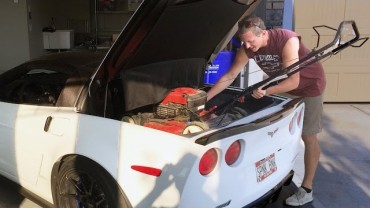 Will a Lawn Mower Fit in a C6 Corvette ZR1