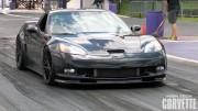 Monstrous Sounding C6 Corvette ZR1 vs Motorcycle
