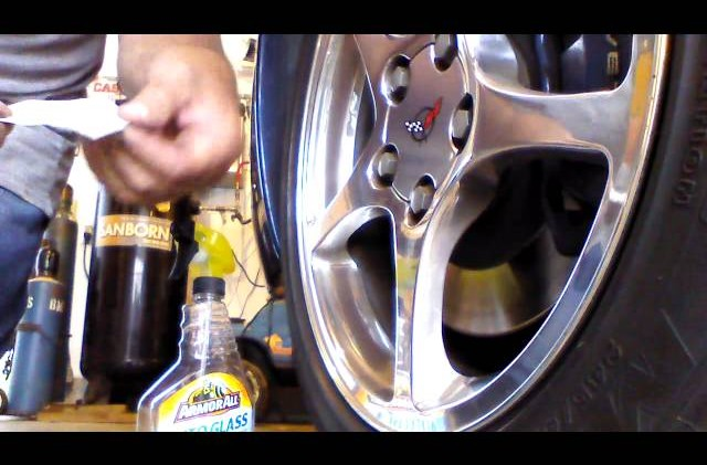 How to Re-letter C5 Corvette Wheels
