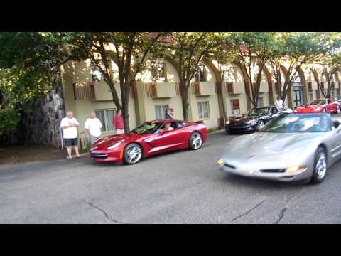 Corvettes on Woodward August 12, 2015 / Woodward Dream Cruise Week