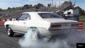 Ultra Rare Camaro ZL1 vs L88 Corvette – 1/4 Mile Drag Race Video – Road Test TV
