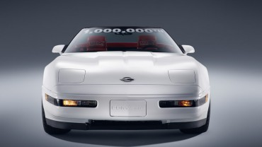 Chevrolet Fulfills 1 Millionth Corvette Restoration Pledge