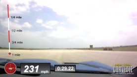 231mph Record Setting Corvette – Texas Mile