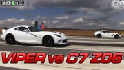 Bolt on C7 Corvette Z06 vs 2014 SRT Viper