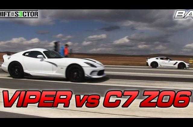 Bolt on C7 Corvette Z06 vs 2014 SRT Viper