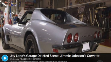 Jay Leno's Garage Deleted Scene: Jimmie Johnson's Corvette